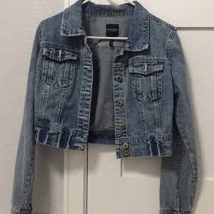 Highway jean jacket .